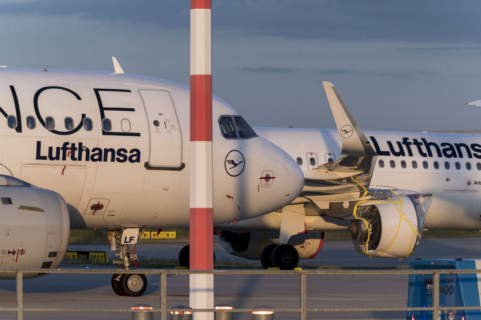 Lufthansa - Coronavirus - Frankfurt