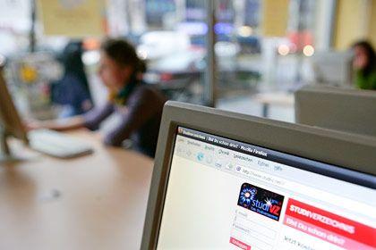 Informationsquelle für potentielle Arbeitgeber: Die Webseite des Studentennetzwerkes StudiVZ