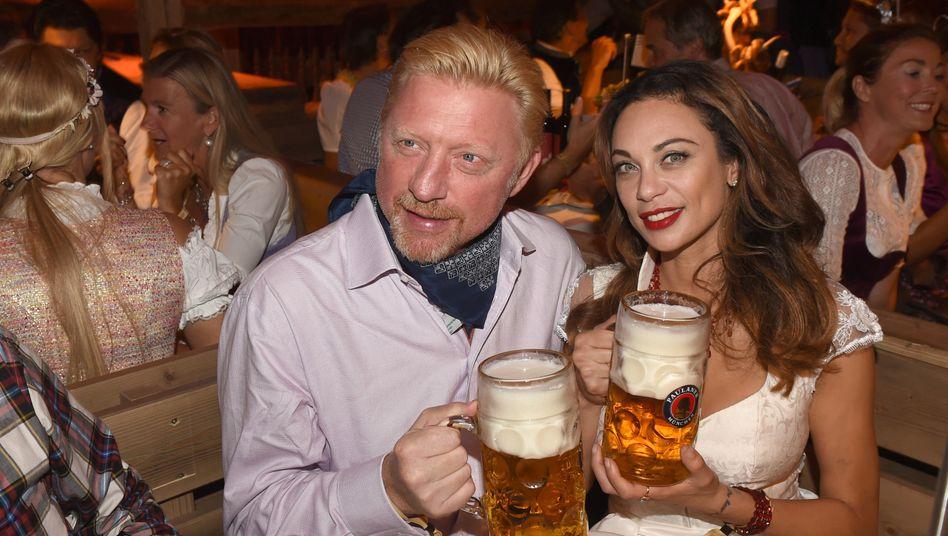 Boris Becker: Pleite? Quatsch