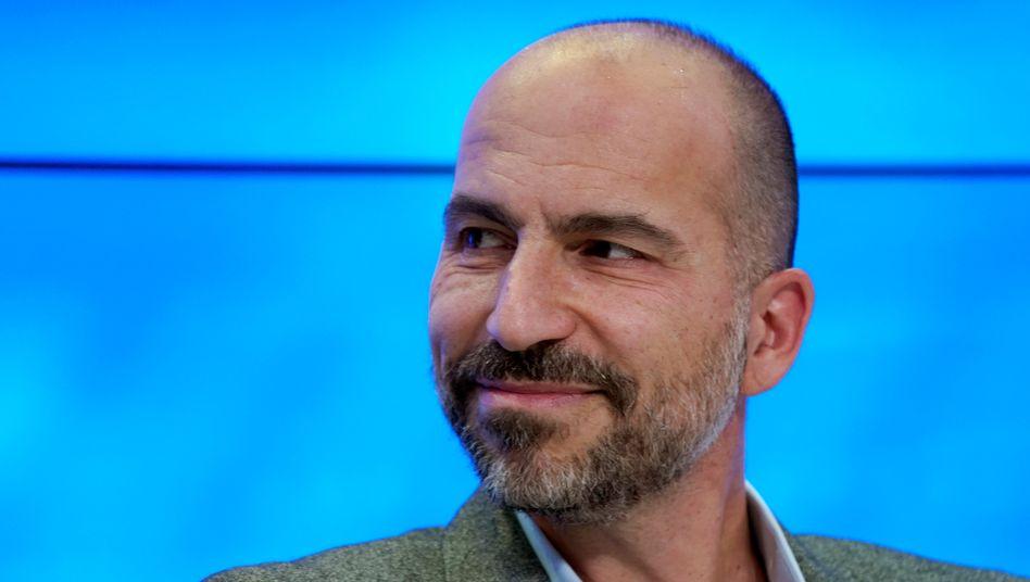 Hat wieder einen Grund zum Lachen: Insidern zufolge erhält Dara Khosrowshahi rund vier Milliarden Dollar für die Sparte ATG
