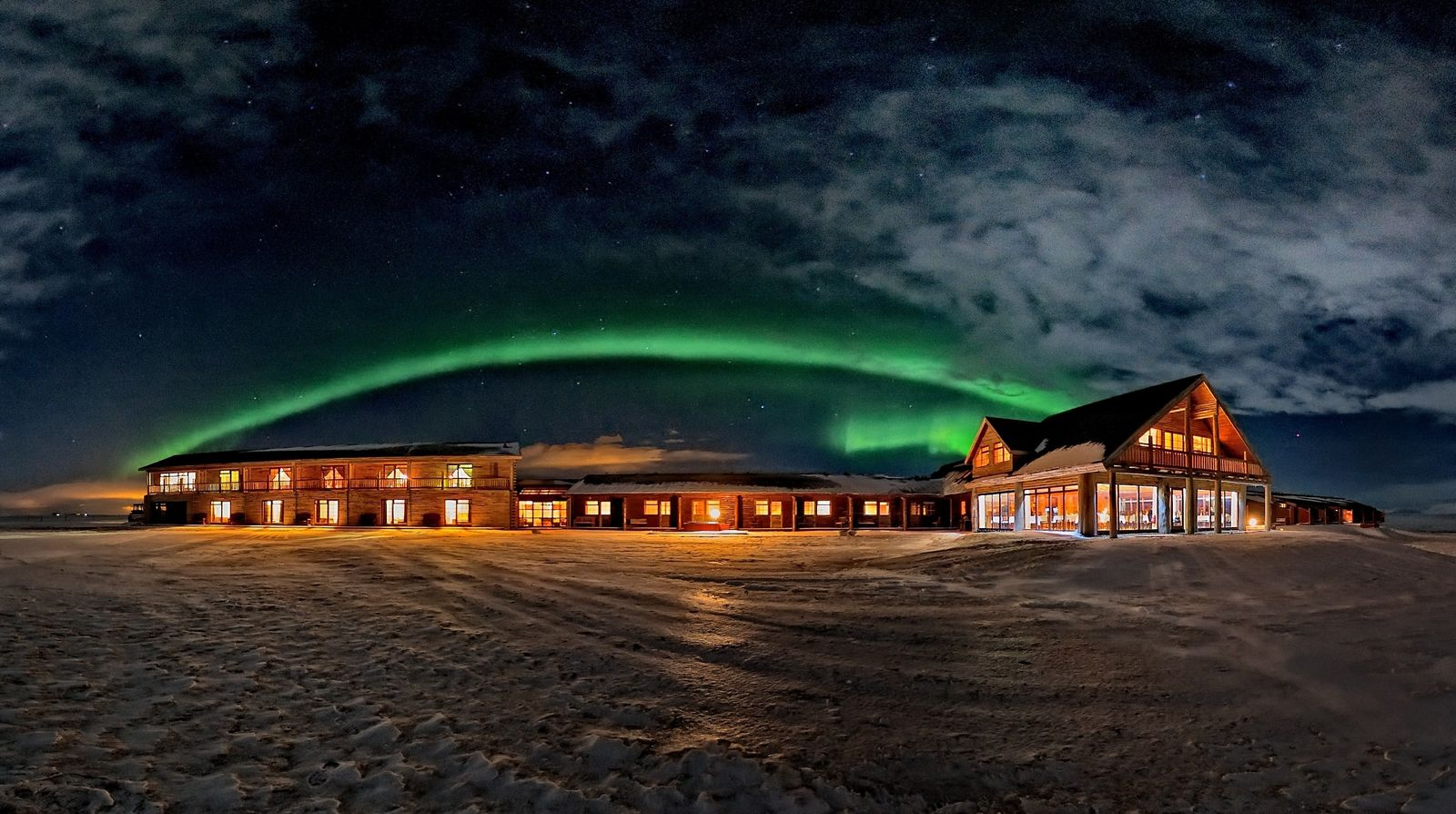 EINMALIGE VERWENDUNG Nordlicht / Hotel Ranga