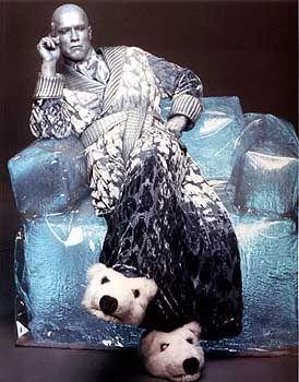 """Für den Wahlkampf lässt sich Schwarzenegger sympathischer fotografieren. Hier in der Rolle des """"Mr Freeze"""" in """"Batman and Robin""""(1997)."""