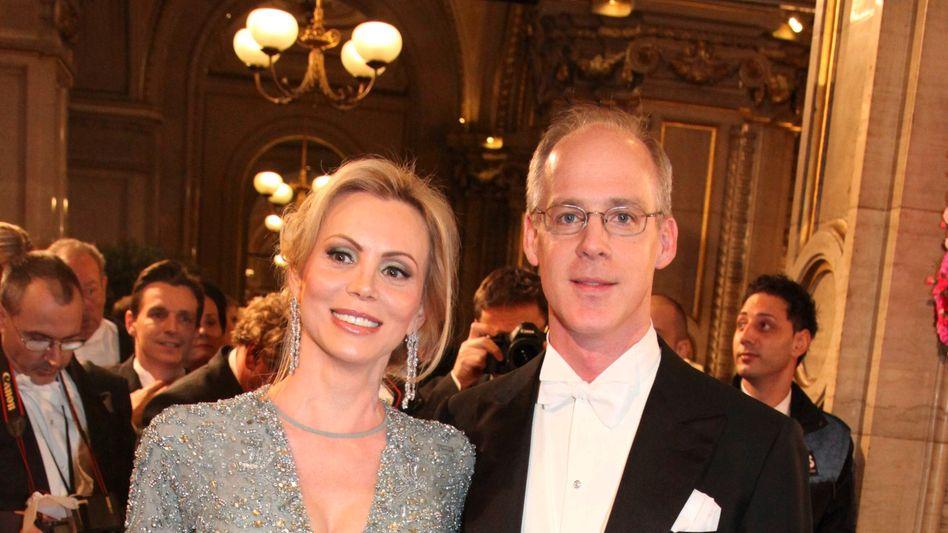 Luxus-Fan: Georg Stumpf und Lebensgefährtin Patricia Schalko besuchen regelmäßig den Wiener Opernball