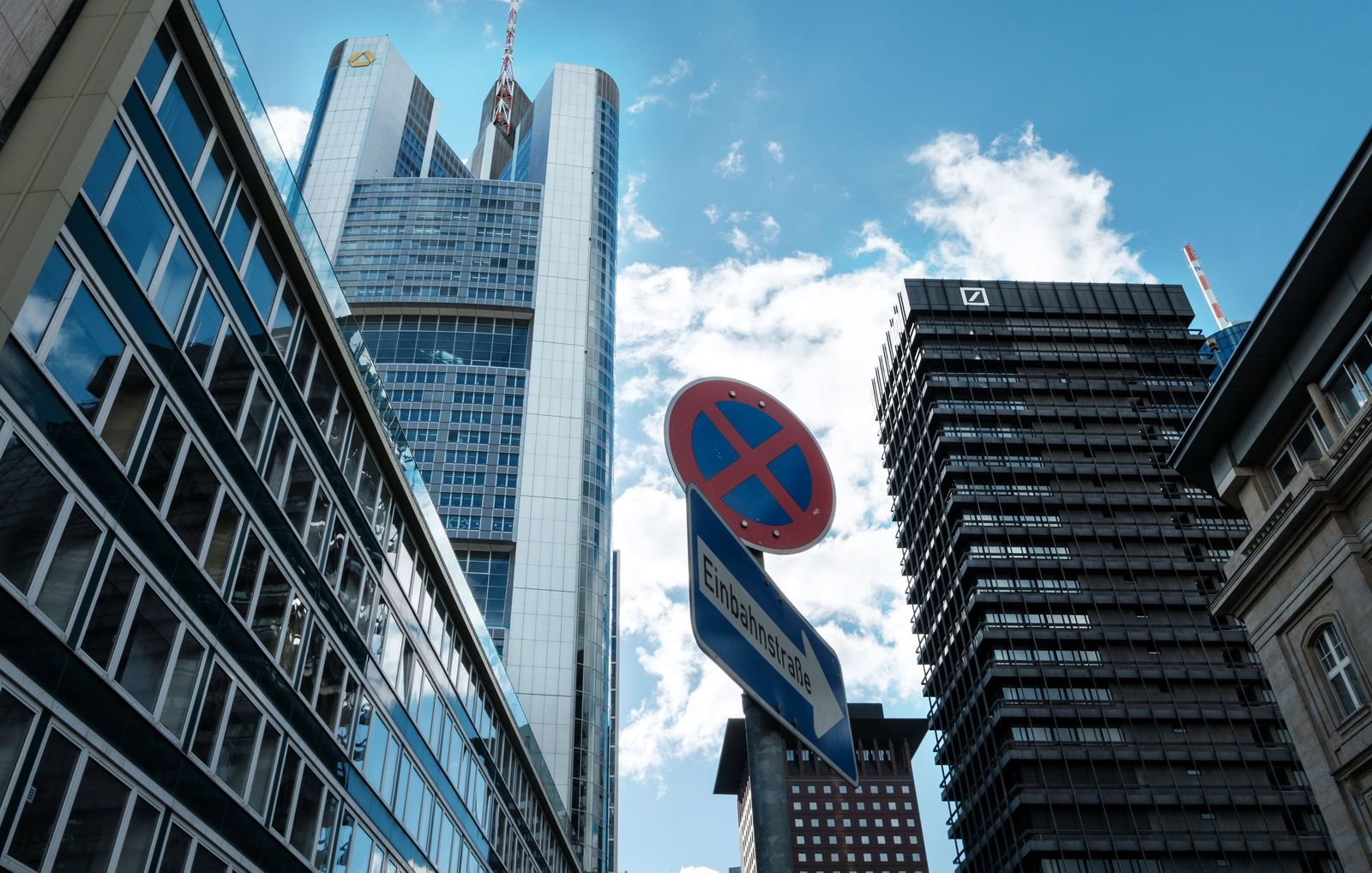 Frankfurt Skyline / Banken / Commerzbank / Deutsche Bank