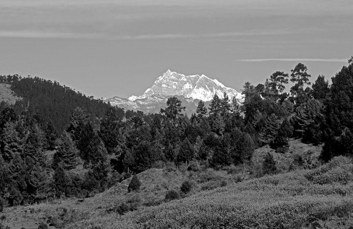 Mit 7570 m ist der Gangkhar Puensum der höchste unbestiegene Gipfel der Welt.