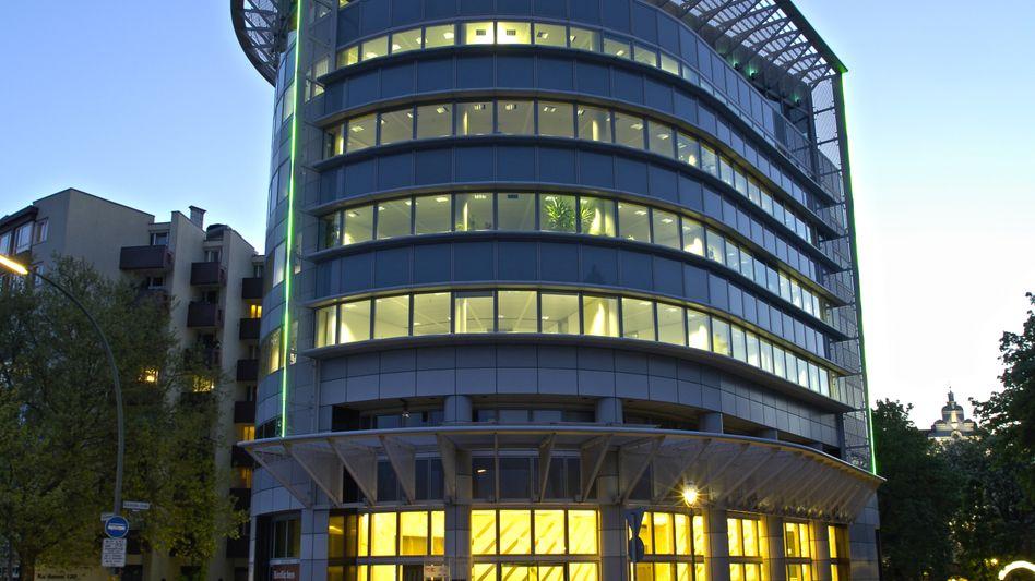 Klein und fein: Das Hauptquartier der Quirin-Bank in Berlin
