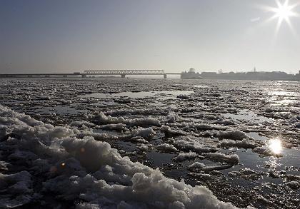 Eisschollen: Die Temperaturen fallen - aber eine Konjunkturabkühlung könnte länger andauern als der Winter