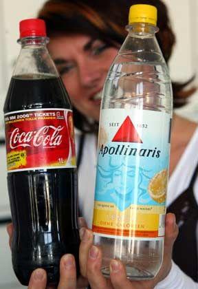 Wasser darfs auch mal sein: Coca Cola hatte Apollinaris im Vorjahr von der Orangina-Gruppe übernommen