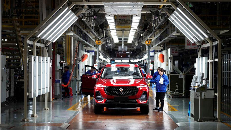Baojun RS-5: Modelle der Marke Baojun, die General Motors in Kooperation in China baut, verkauften sich in den vergangenen Jahren zusehends schlechter