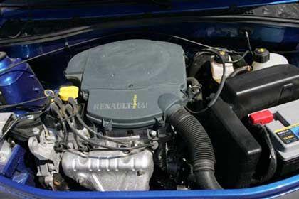 Motor von Renault: Der Vierzylinder-Reihenmotor des Dacia Logan mit 1390 Kubikzentimeter Hubraum