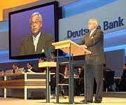 Spitzenverdiener: Vorstände der Deutschen Bank