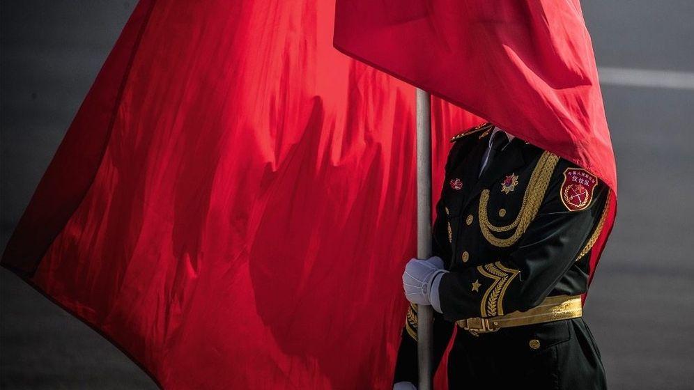 In alten Ehren: Der zwölfte Peking-Besuch der Kanzlerin verlief im September 2019 noch wie immer: Gespräche, Geschäfte und herrschaftliches Staatszeremoniell in der Großen Halle des Volkes
