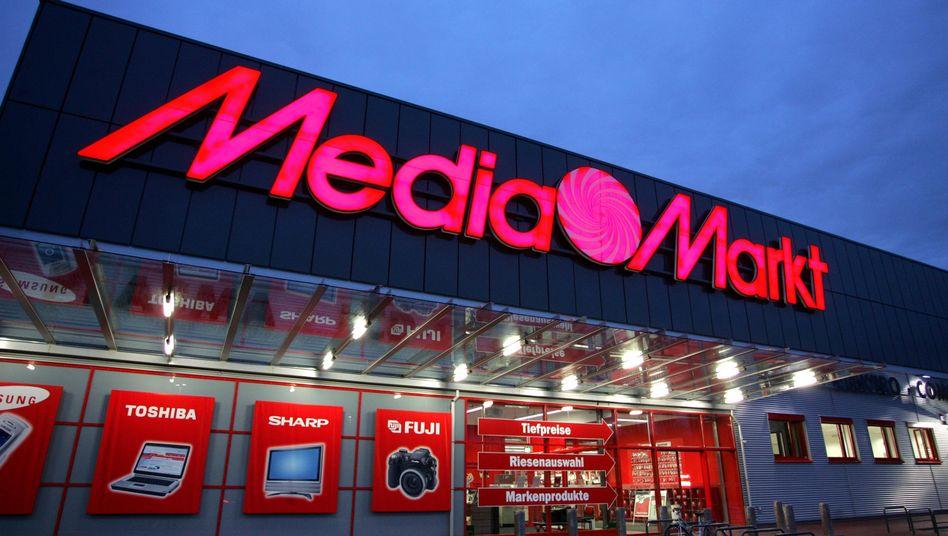 Media Markt in Düsseldorf: Die Aktie des Mutterkonzerns Metro legte deutlich zu