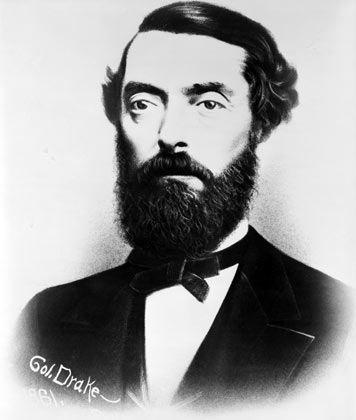 Bohrte und wurde fündig: Edwin L. Drake (1918-1880) stieß im August 1859 erstmals auf eine unterirdische Ölquelle in den USA