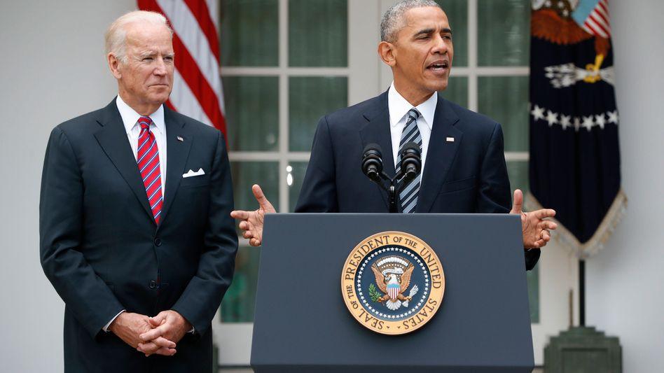 """US-Präsident Obama: """"Demokratie ist manchmal hart und herausfordernd"""""""