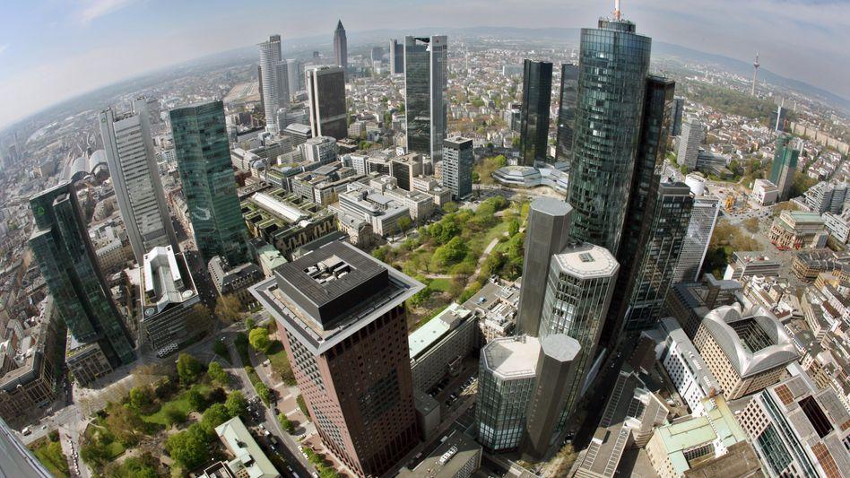 Frankfurter Bankentürme: Bruegel-Chef Wolff rechnet mit Bankpleiten