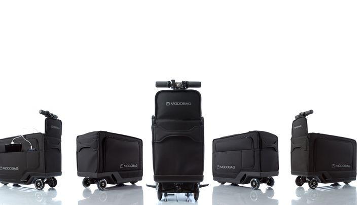 Modobag: Mit dem E-Koffer zum Flieger sausen