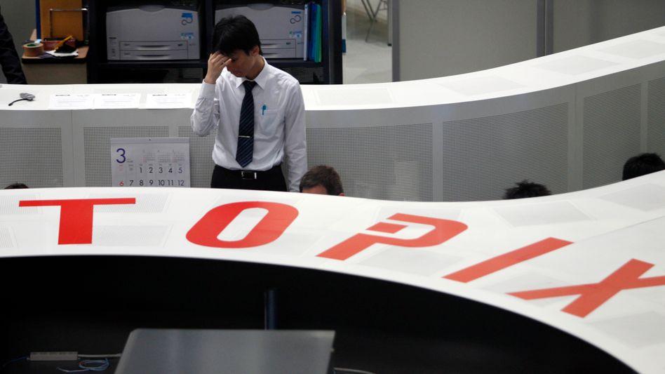 Tokyo Stock Exchange: Kursrutsch wie zu Zeiten der Atomkatastrophe
