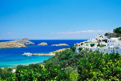 Insel Rhodos: Die Immobilienpreise sinken in Griechenland