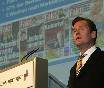 """""""Es war eine sinnvolle und gut verhandelte Transaktion"""" Axel-Springer-Chef Döpfner"""