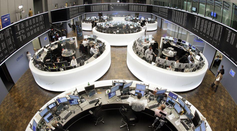 Börse in Frankfurt: Anleger warten auf Hinweise für den nächsten Zinsentscheid