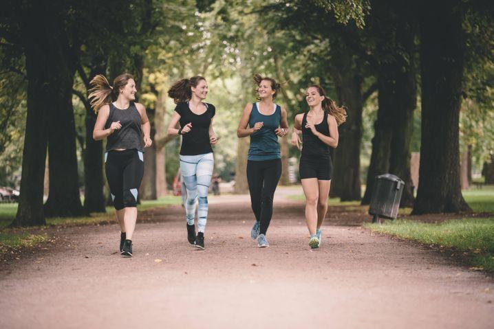 Hauptsache, die anderen kommen mit: Netzwerkerinnen laufen gern gemeinsam