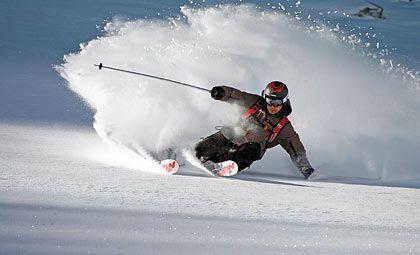 Vergnügen pur: Mit der richtigen Ausrüstung steht dem Skispaß nichts im Wege