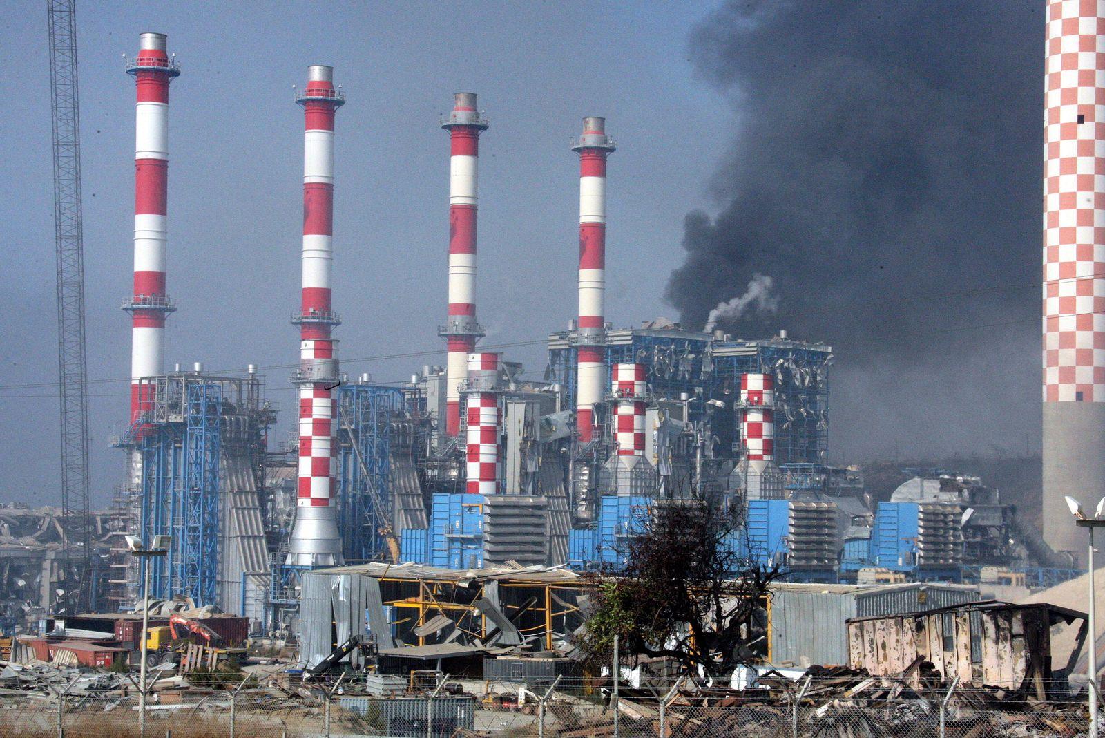 Zypern/ Explosion/ Kraftwerk