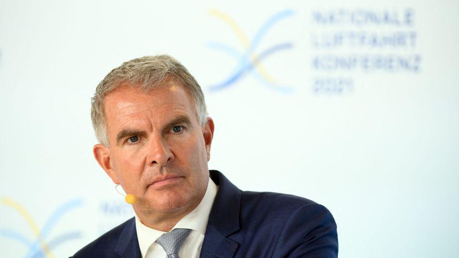 """""""Wir sind dran"""": Lufthansa-Chef Carsten Spohr"""