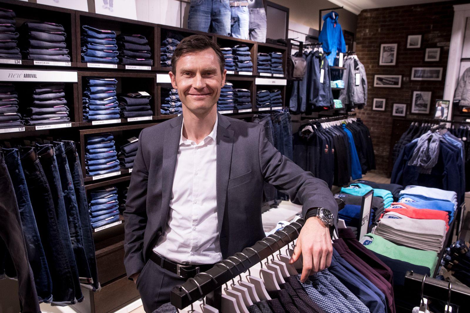 Heiko Schäfer- Modekette Tom Tailor