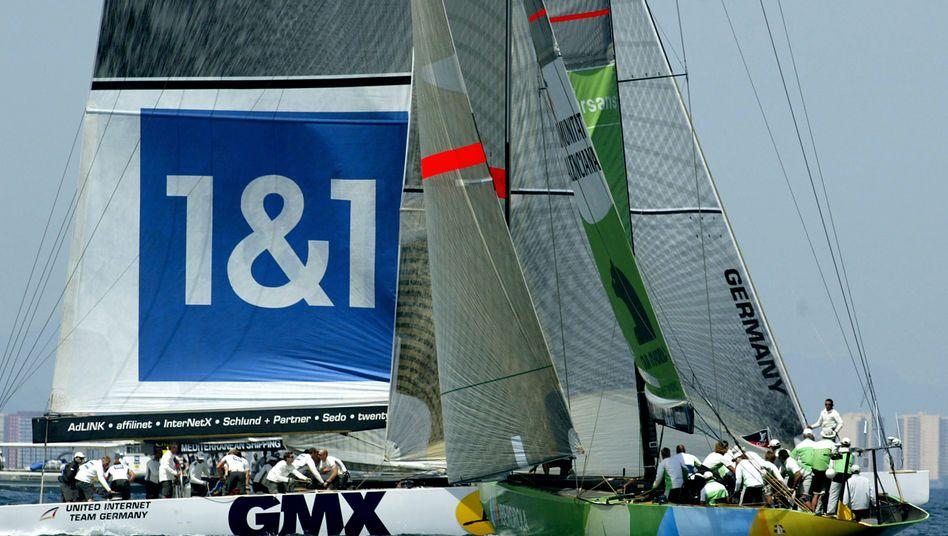 Bunter Markenmix: GMX und 1&1 sind zwei von mehreren Marken von United Internet