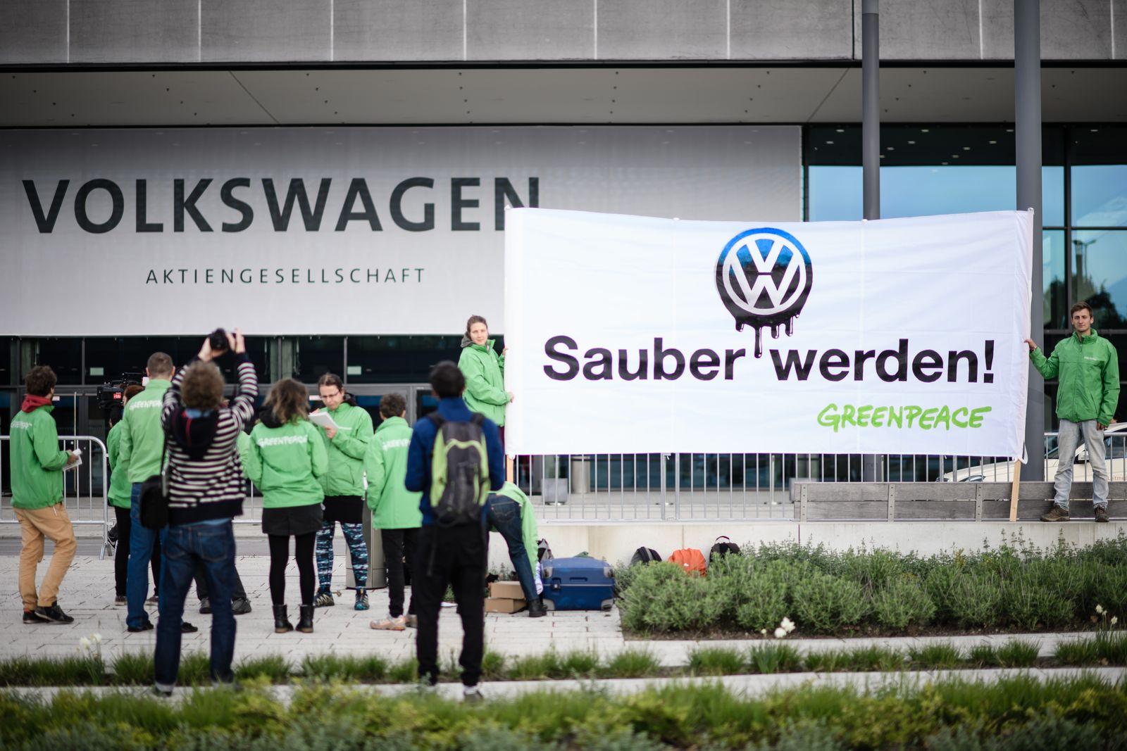 VW Diesel / Sauber werden