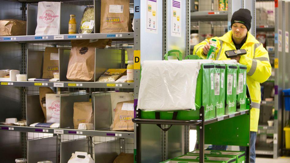 Amazon fresh: Erst Lebensmittel, bald auch Drogeriewaren