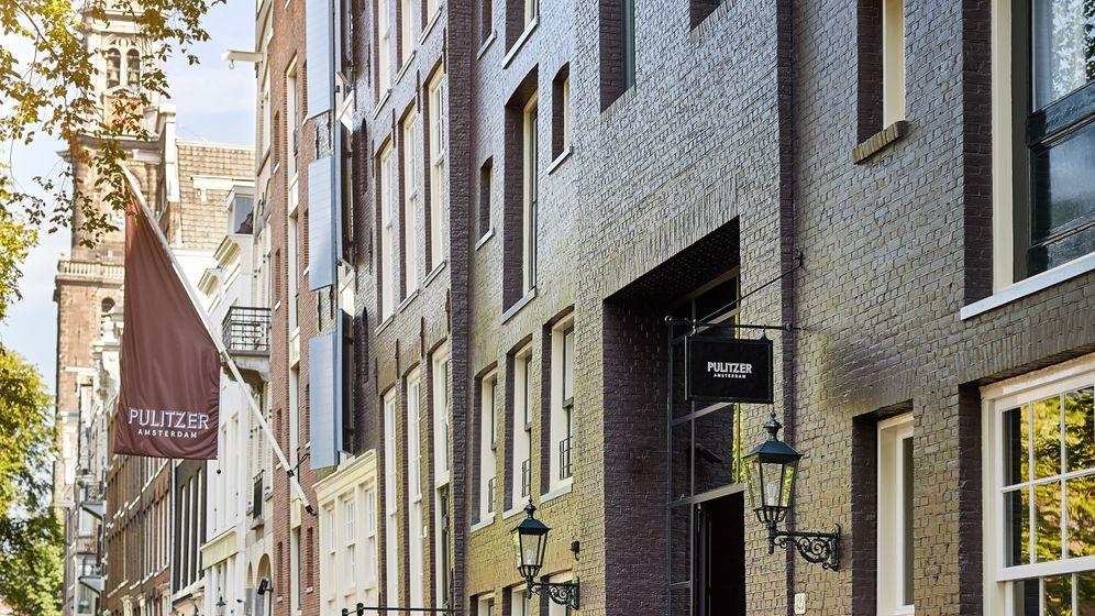 Hotel Pulitzer Amsterdam: Ein Labyrinth von lichten Innenhöfen