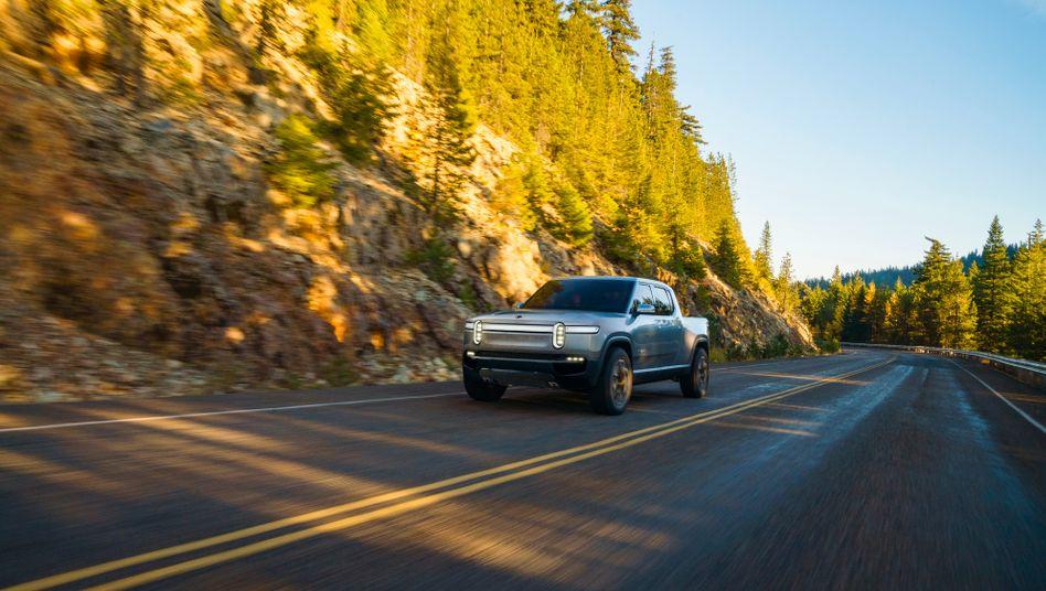 Cooles Design und elektrischer Antrieb - so will das Start-up Rivian das verkrustete Pick-Up-Segment aufbrechen.