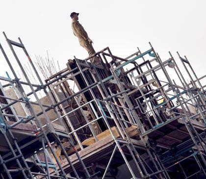 Bau auf: Die Wirtschaft ist wieder optimistisch