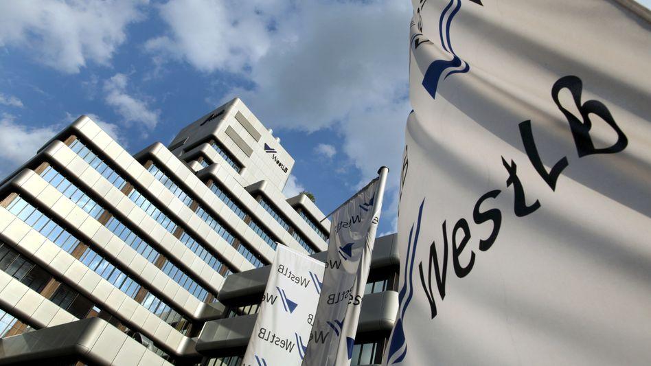 WestLB-Zentrale: EU ist eng in die Verhandlungen über den Rettungsplan eingebunden