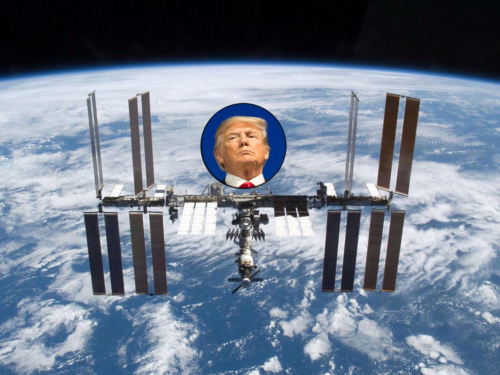 KOMBO ISS / Trump