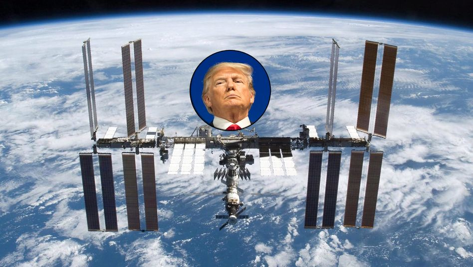 Internationale Raumstation ISS: Die USA wollen sich aus der Finanzierung des fliegenden Forschungslabors 400 Kilometer über der Erde zurückziehen und den Betrieb des US-amerikanischen Teils der Station privaten Investoren überlassen