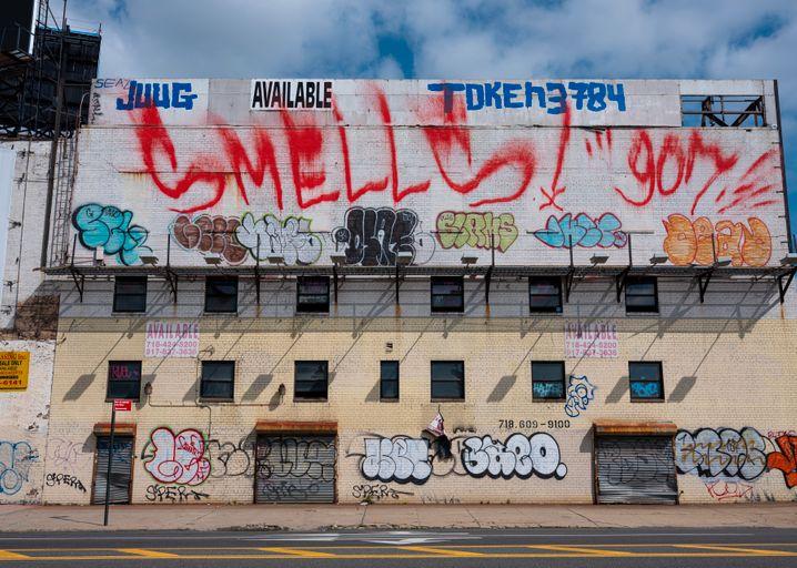 Schnäppchen für Investoren? Verlassenes Gebäude im New Yorker Stadtteil Queens