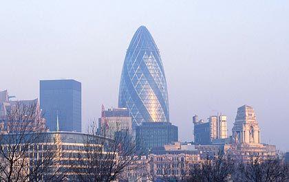 In Händen der IVG: Die Gurke, die Zentrale der Swiss Re in London