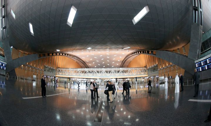 Der Hamad International Airport in Doha.