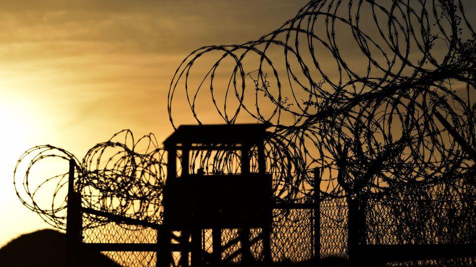 Guantanamo auf Kuba: Obama hatte bereits 2009 die Schließung versprochen. Von insgesamt rund 700 Gefangenen sitzen noch 91 in Guantanamo ein