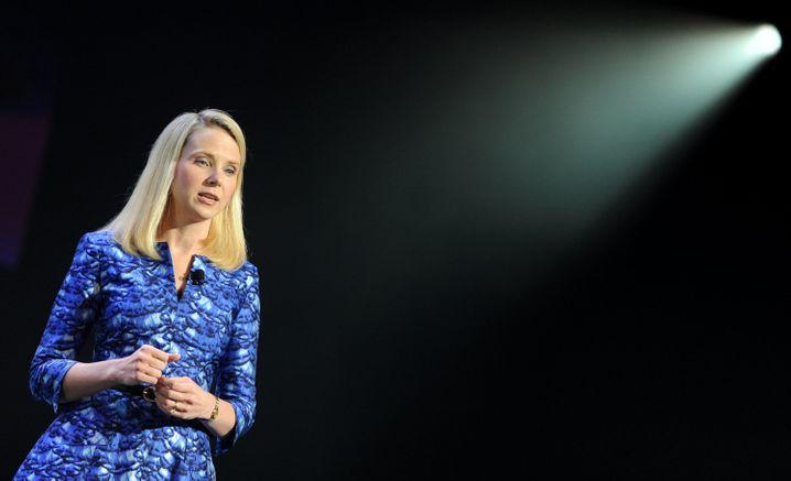 Yahoo-Chefin Marissa Mayer auf der Elektronikmesse CES