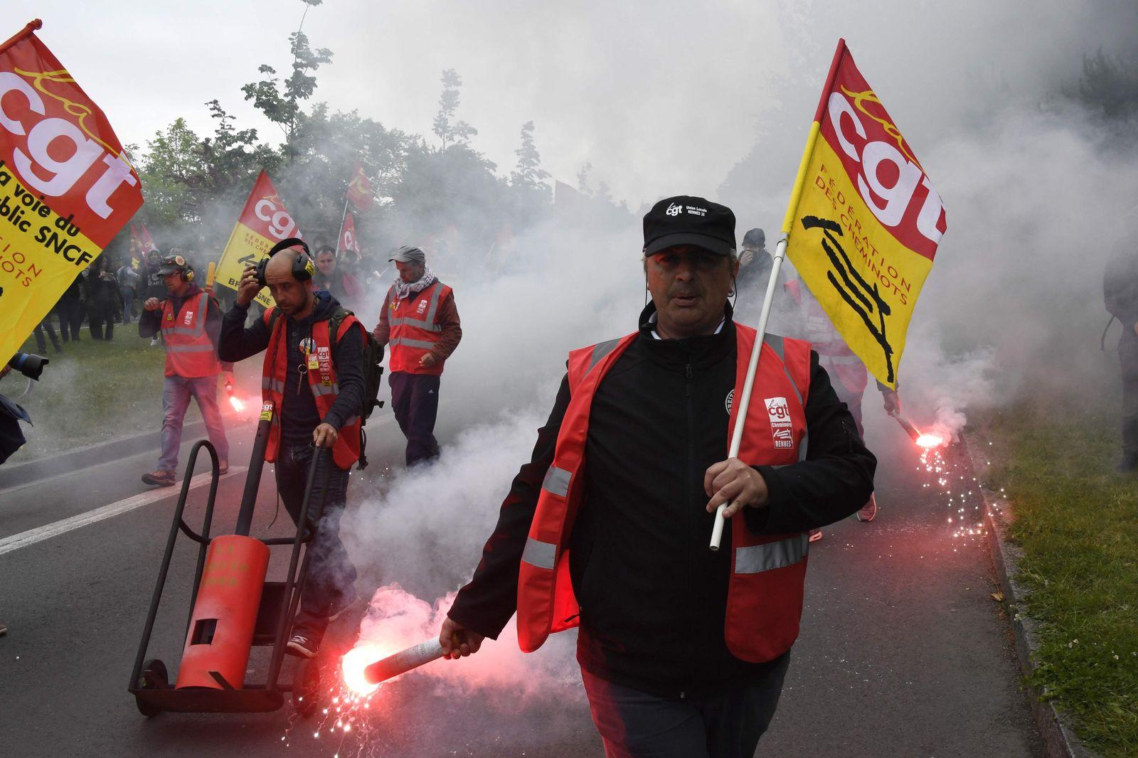 Frankreich / Streik / EM