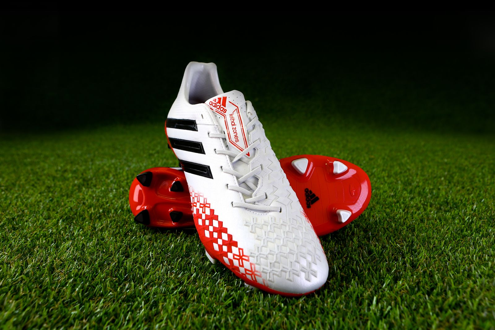 adidas Predator White & Red 6