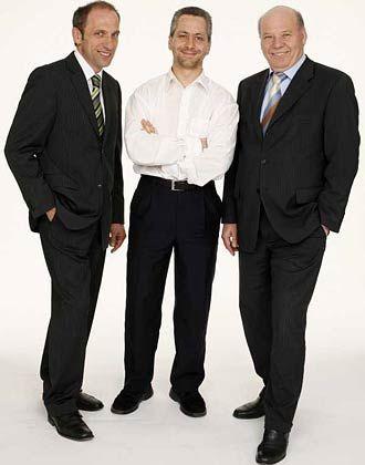 Die Loremo-Gründer (v. li.): Gerhard Heilmaier, Uli Sommer, Stefan Ruetz