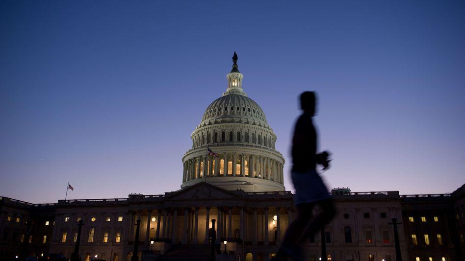 Kapitol in Washington: Eskaliert der Streit in den USA, droht den 34 OECD-Staaten der Rückfall in die Rezession