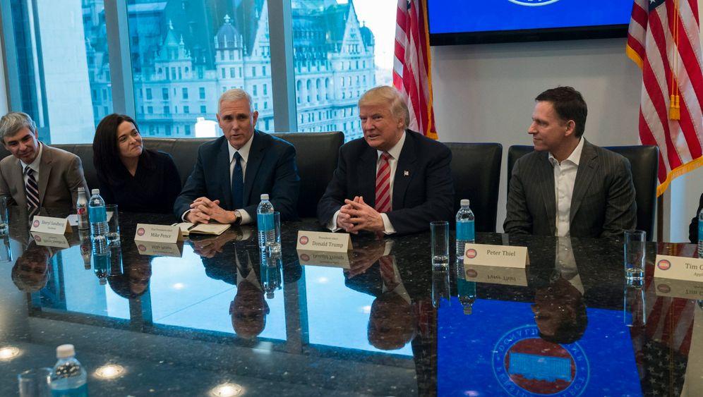 Apple, Amazon und Google: Trump trifft Techies