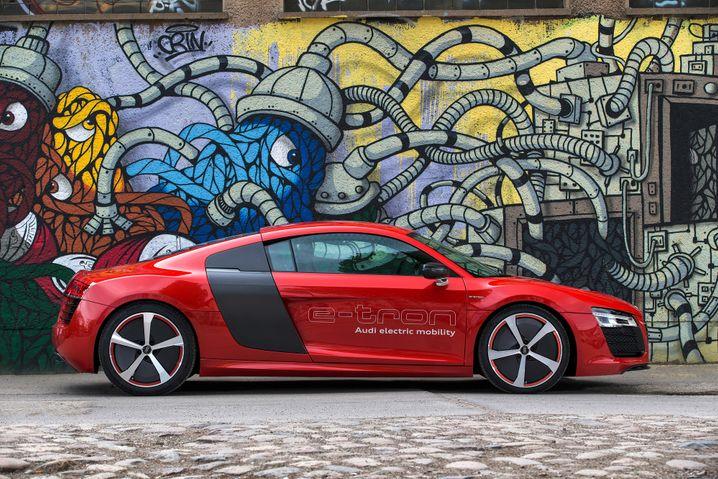 Audi R8 e-tron: Wegen zu geringer Reichweite wurde der ersten Version der Stecker gezogen